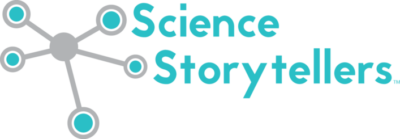Logo for Science Storytellers